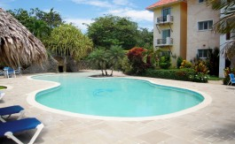 Cabarete-Condo-Rental-Pool-Area